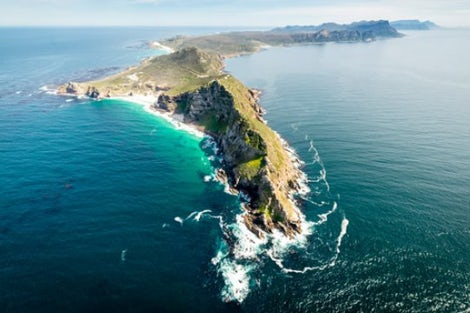 Cape Peninsula from above
