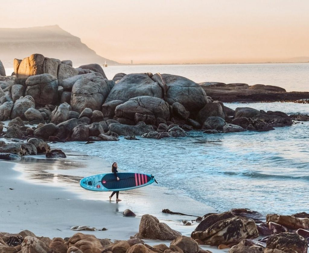 Stand up paddle boarding in Cape Town